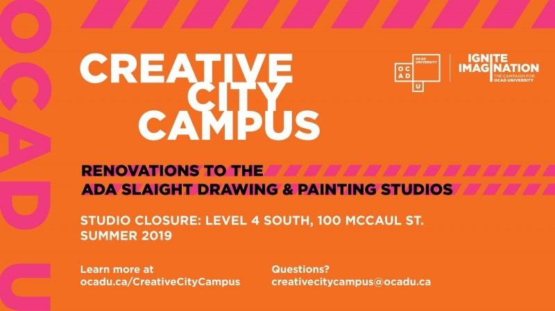Creative City Campus - Level 4 closure