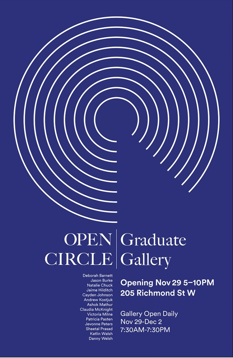 Join the Decolonizing the Book grad students for a reception at their Open Circle exhibit and an end of year celebration for gra