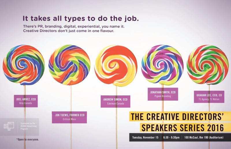 Creative Director Speakers Series