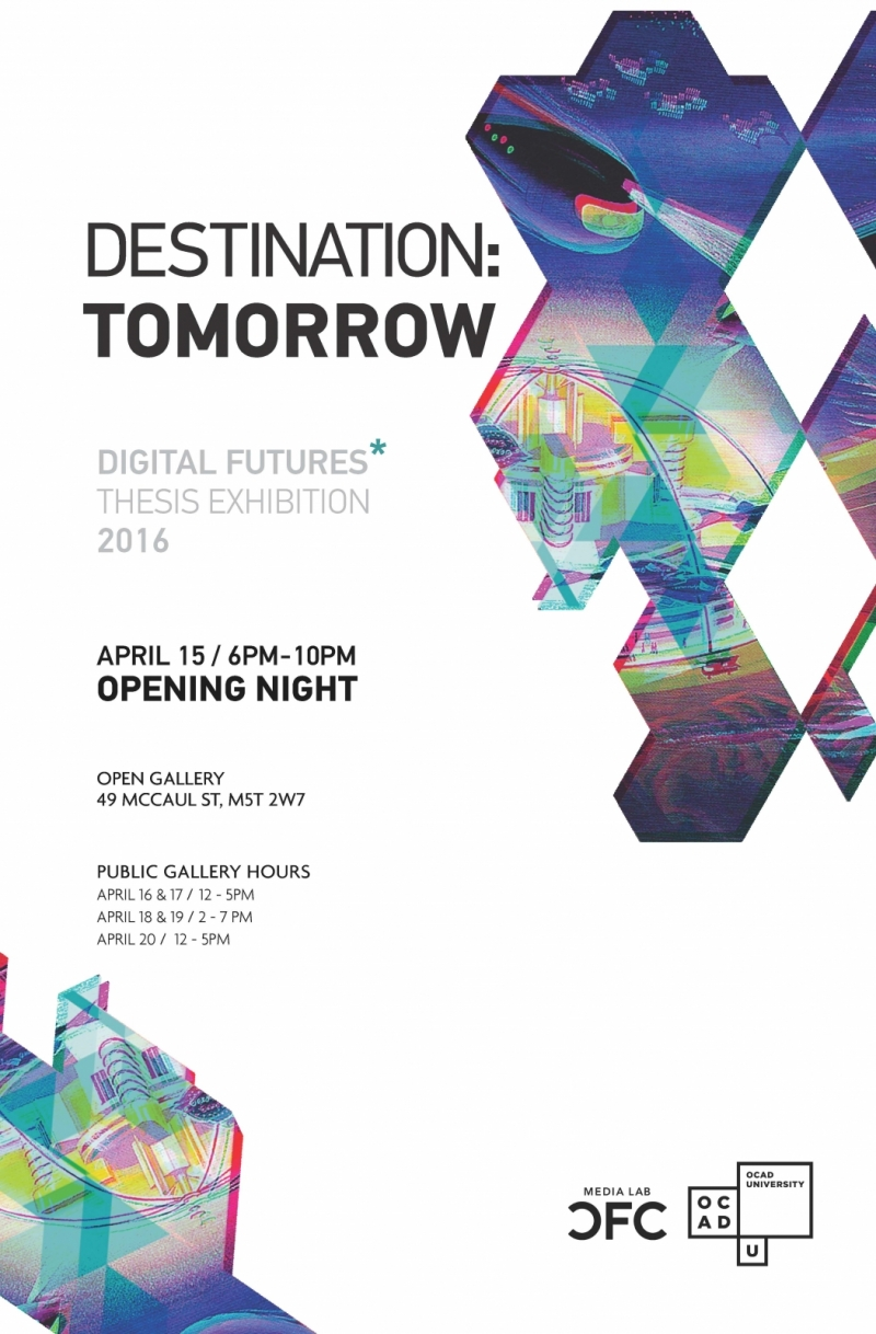 Poster for DF Graduate Student Group Thesis Exhibition
