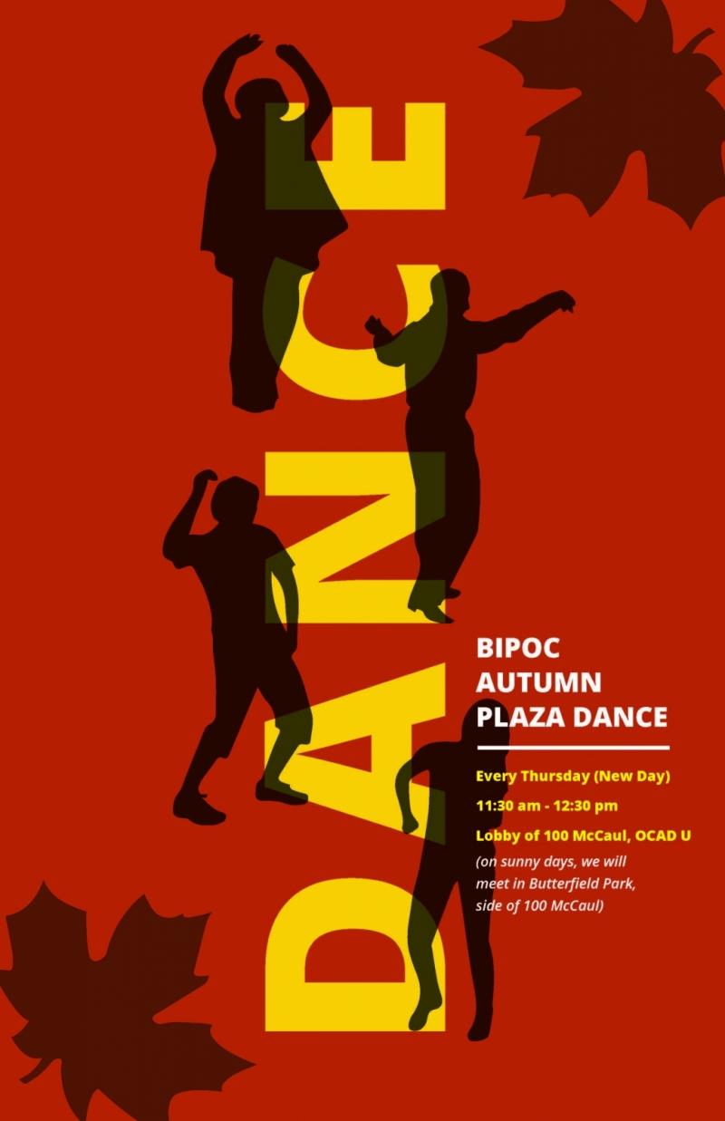 BIPOC Autumn Plaza Dance