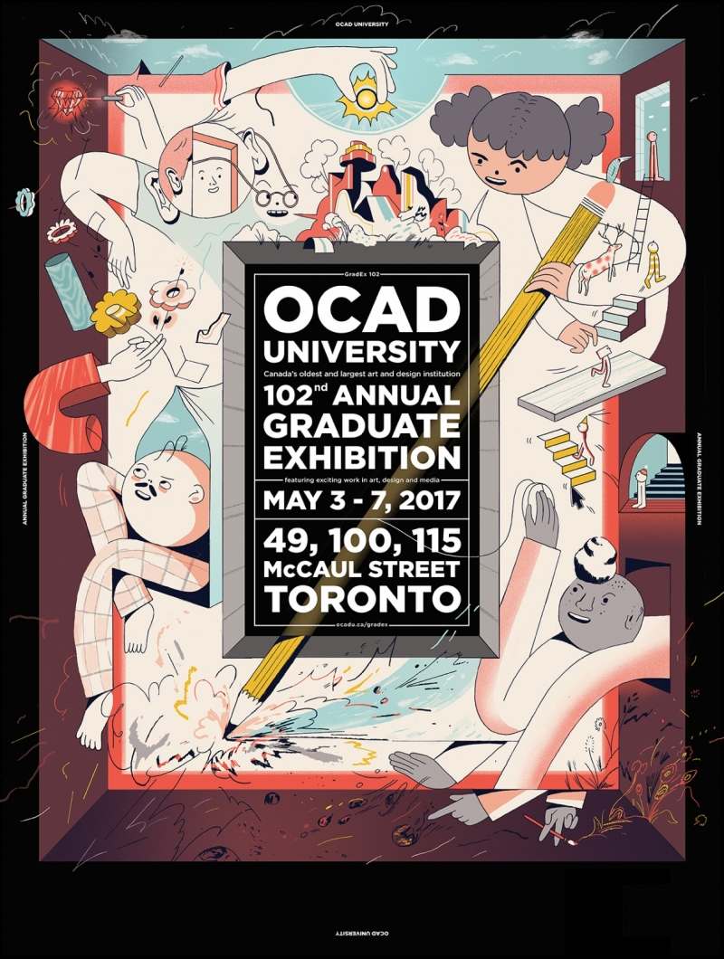 ocad thesis show