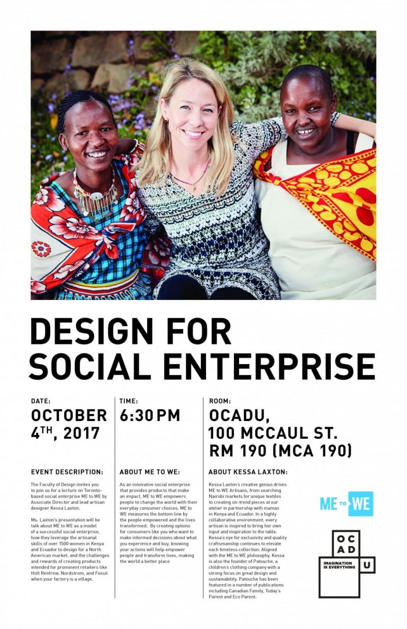 Kessa Laxton Talks Design for Social Enterprise