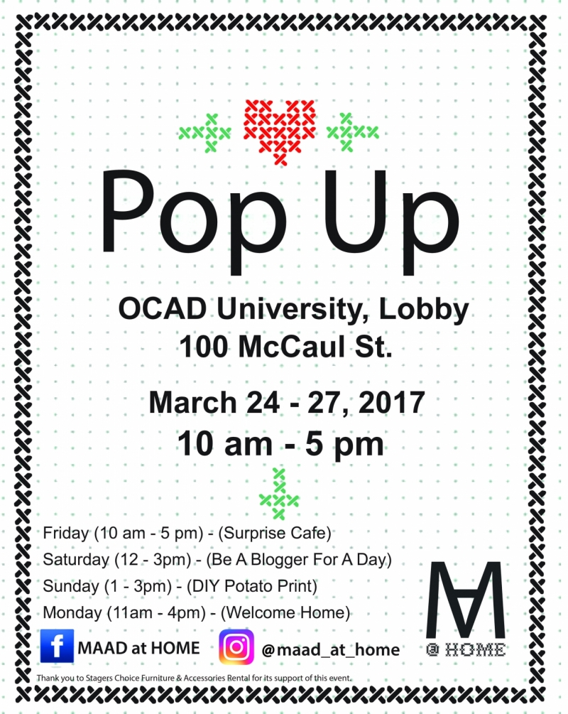 MAAD  At Home Pop Up Shop