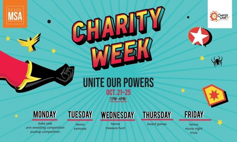MSA - Charity Week