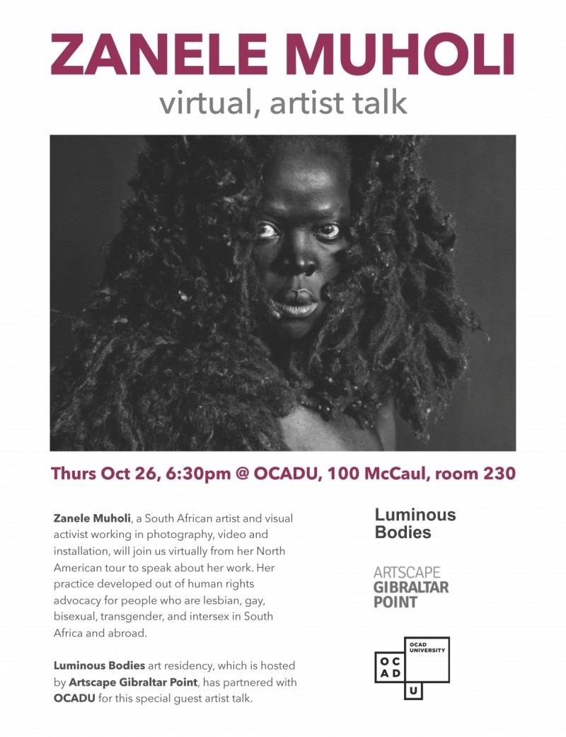 Zanele Muholi virtual, artist talk