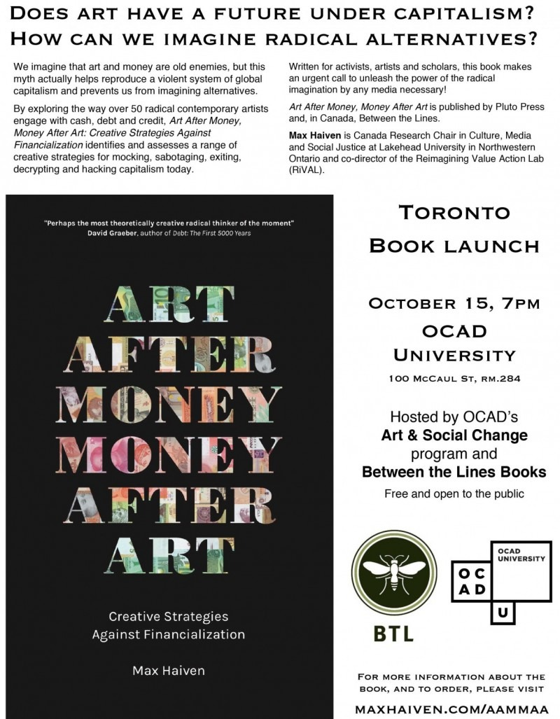 Poster for a Book Launch