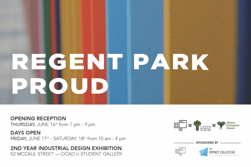 Regent Park Proud poster with event info