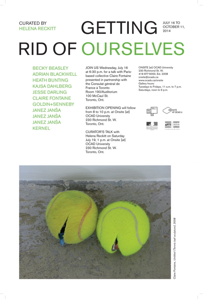 Getting Rid of Ourselves