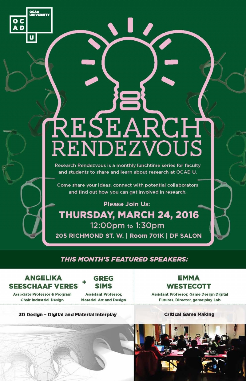 Research Rendezvous March 24th Poster