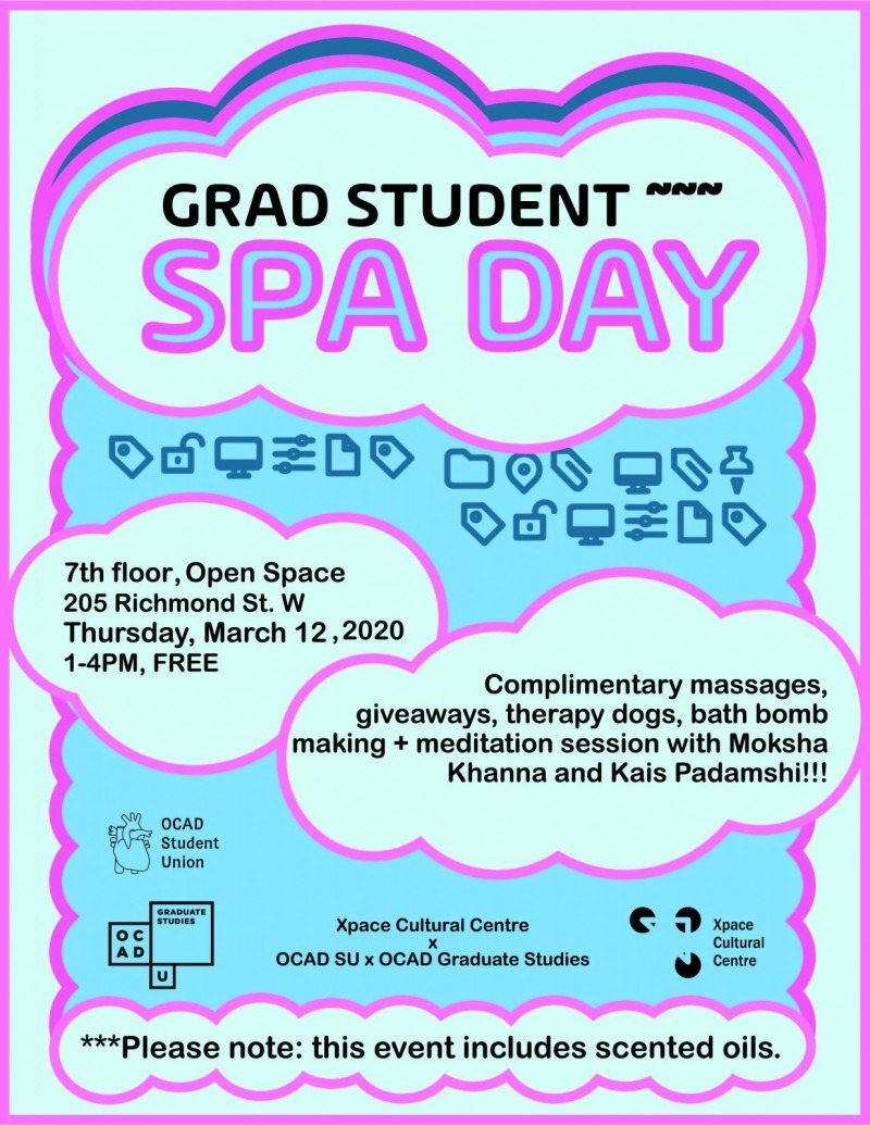 """Grad Spa Day  There's nothing better to ignite imagination than shifting from stress to balance. Enjoy complimentary massages, """""""