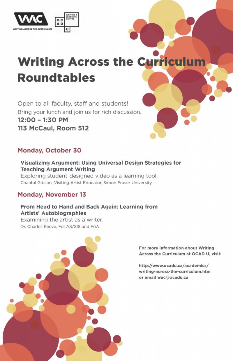 WAC Roundtable November 13