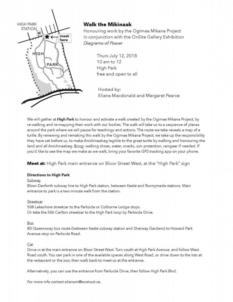 Walk the Mikinaak flyer