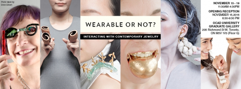 Wearable or Not? exhibition poster