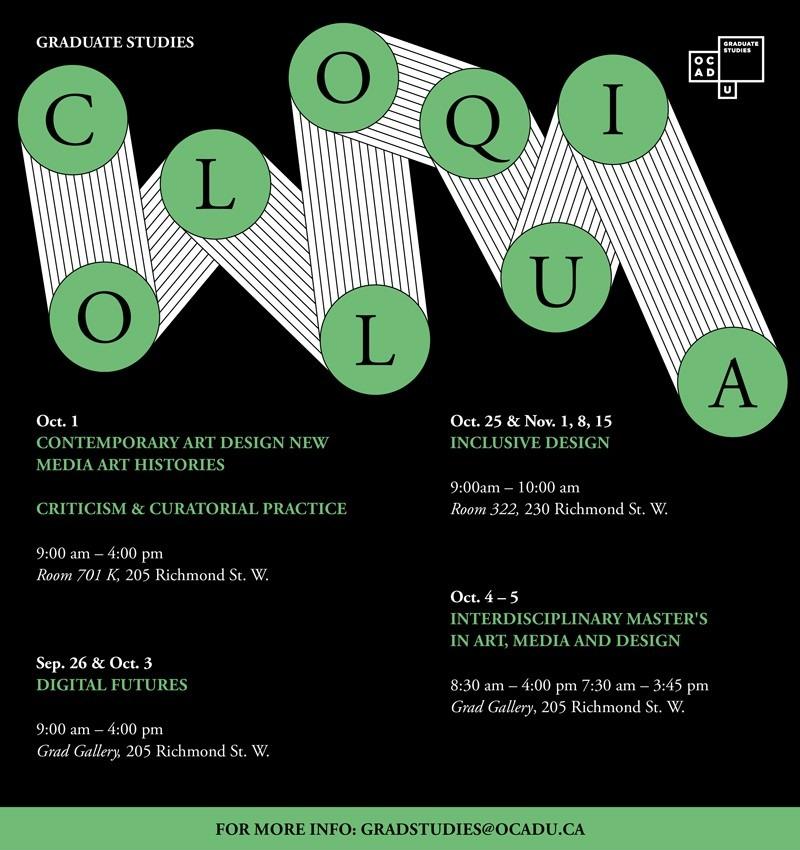 Colloquia Poster