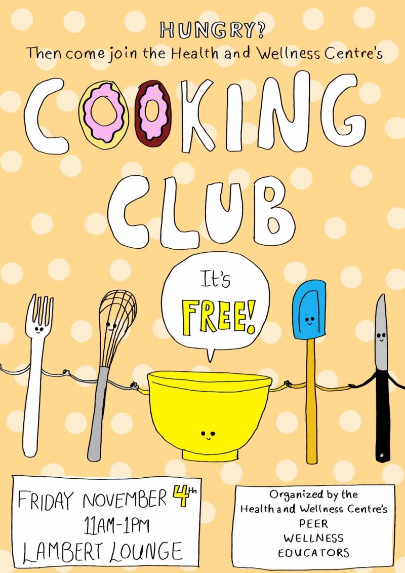 HWC Cooking Club Fri Nov 4