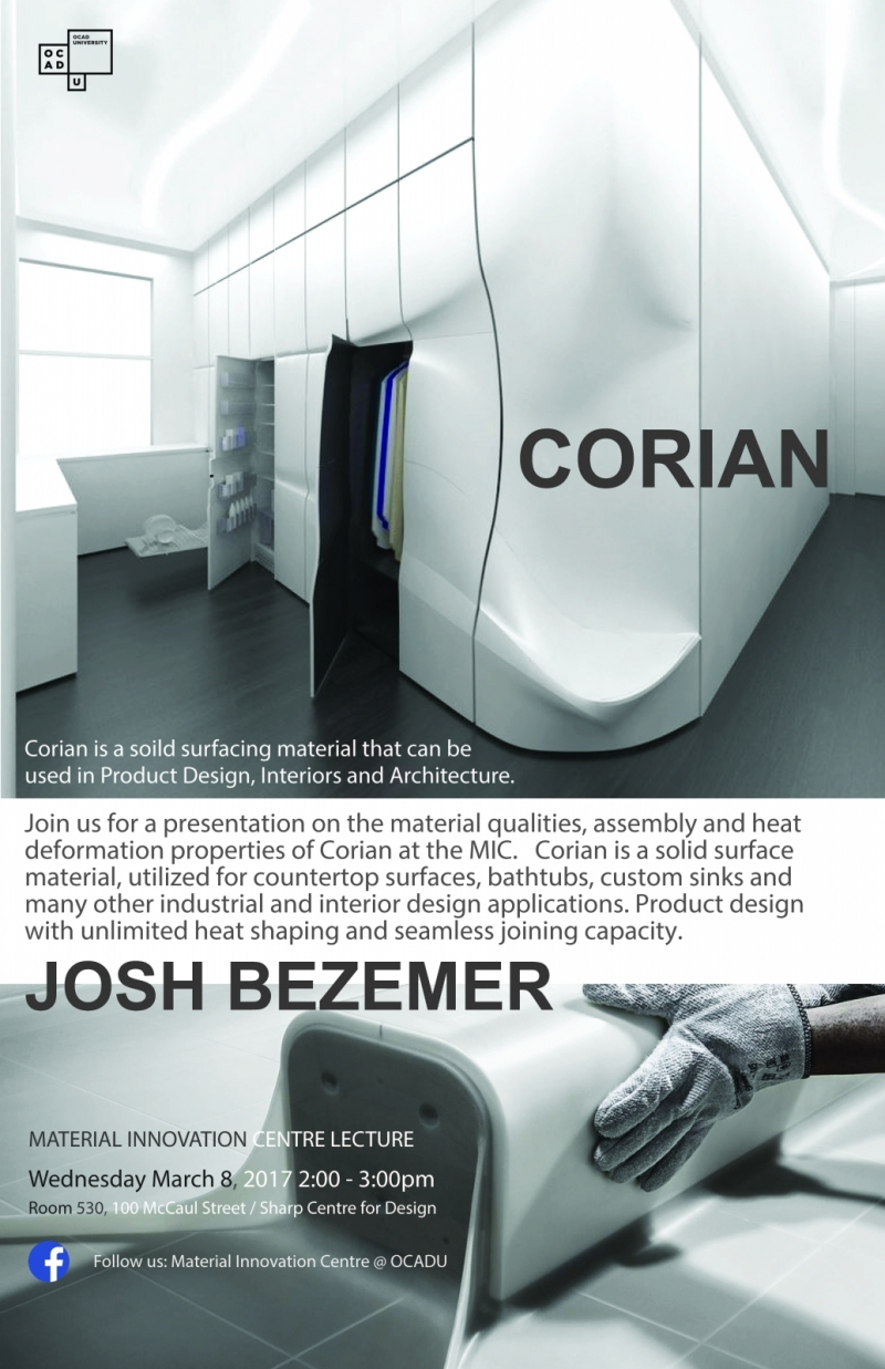 Material Innovation Centre Presents Lecture with Josh