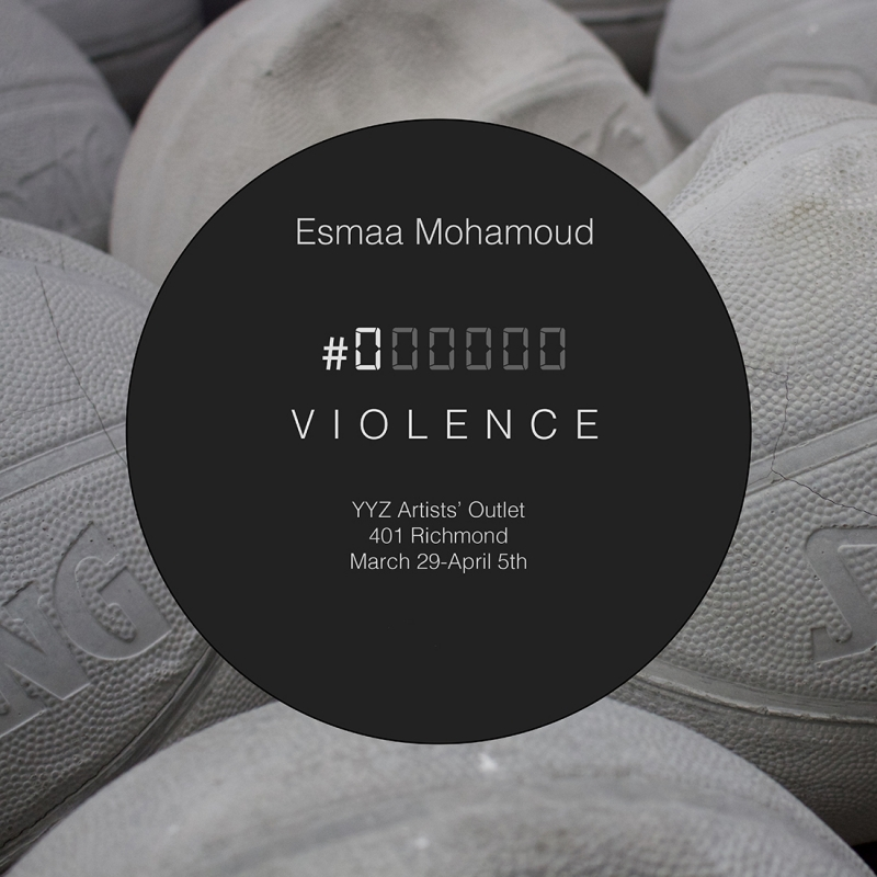 exhibition postcard - #000000 VIOLENCE