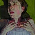 Christina Sealey, Self-Portrait, Outside