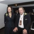 President Sara Diamond standing next to Will Alsop